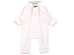 Ver de Terre fleece suit rose powder/kit